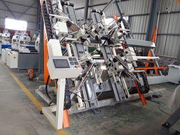 자동화된 CNC 수직 PVC 창 4개 점 용접 기계
