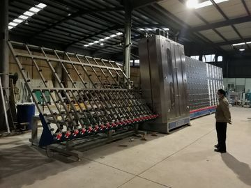 낮은 E 세척 유리제 기계, 평면 유리 세탁기 최대 유리제 크기 2800x4000mm